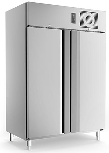 Edelstahl Tiefkühlschrank TKU 1425
