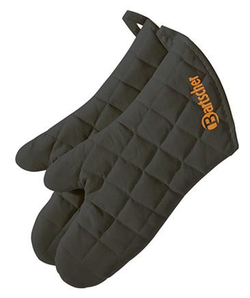 Topfhandschuhe 32cm, Paar, schwarz