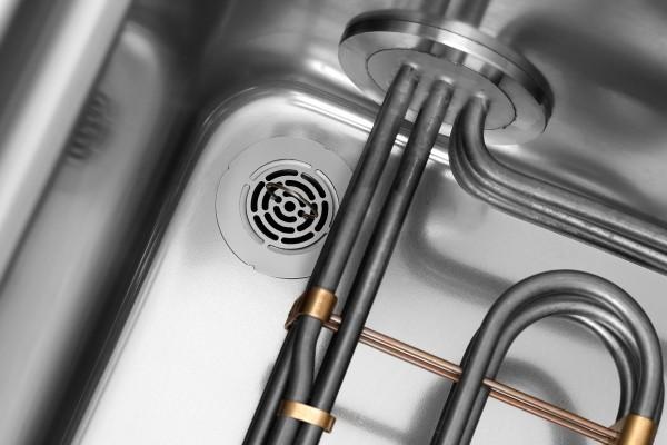 Elektro-Nudelkocher mit einem Becken