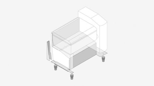 Verkleidung für VarioCookingCenter Typ 211,311