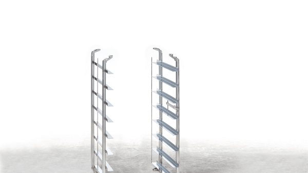 Einhängegestellpaket, Pekingente Einhängegestelle und Rost 400x600mm