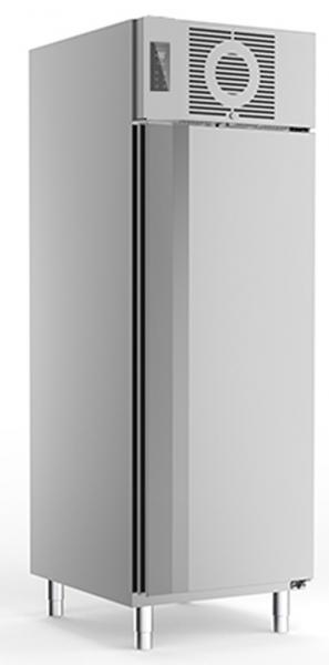 Edelstahlkühlschrank KU 725