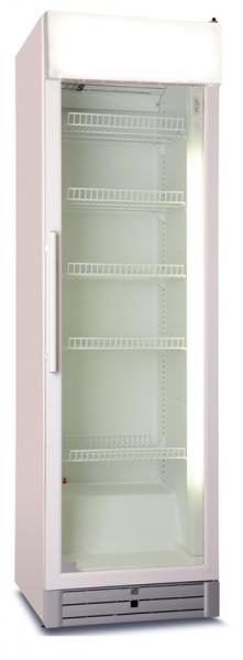 Glastür-Kühlschrank mit vertikaler Beleuchtung CD 480 GDU
