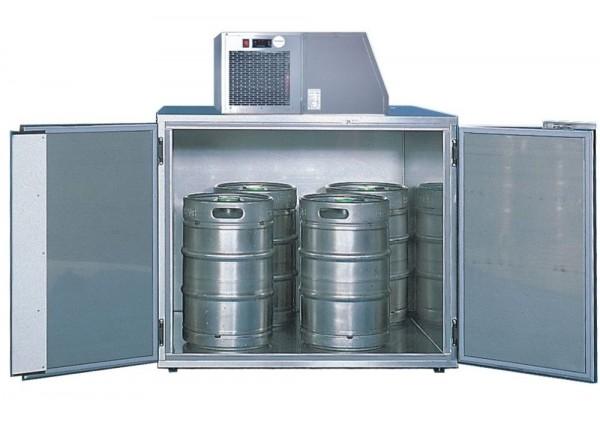 Fasskühlergehäuse für vier Fässer FK4