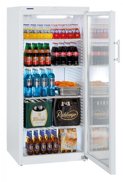 Flaschenkühlschrank mit Glastür FK 5442
