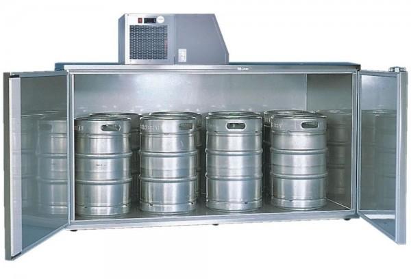 Fasskühlergehäuse für acht Fässer FK8