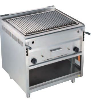 Gas - Lavasteingrill 650-PLX-80
