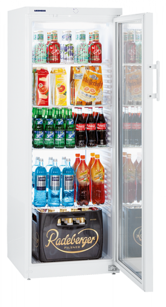 Flaschenkühlschrank mit Glastür FK 3642