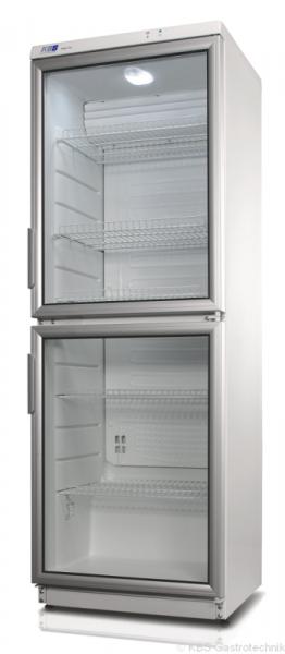 Glastür-Kühlschrank mit LED Beleuchtung CD 350-2