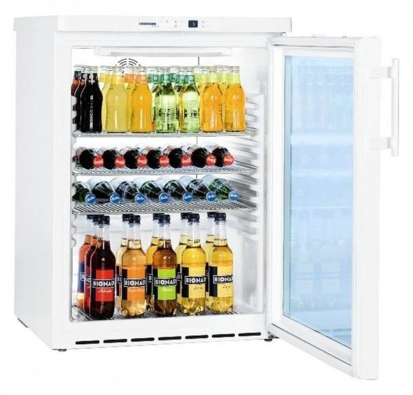 Umluft-Glastür-Kühlschrank FKUv 1613