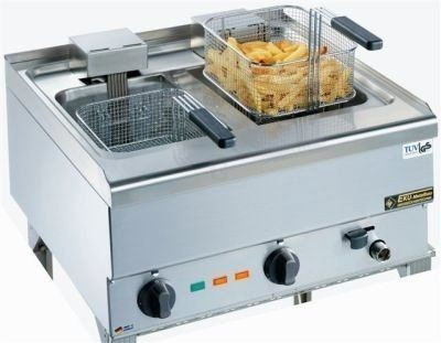 Elektro-Fritteuse 650-FRE-40-100