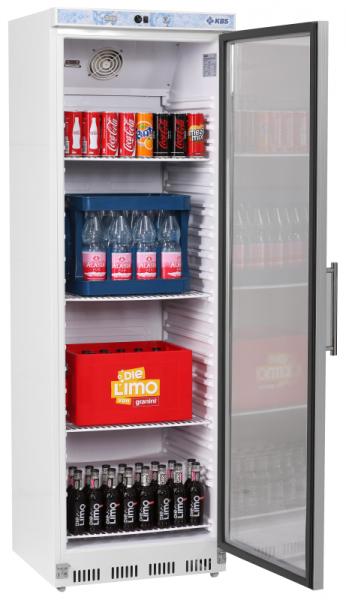 Umluft Glastür-Kühlschrank 402 GU