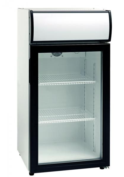 Flaschenkühlschrank mit Glastür KBS SCC 81 GDU