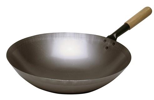 Wokpfanne Stahl, 360 mm