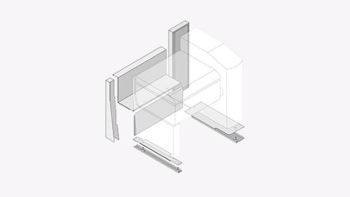 Sockelkit für VarioCookingCenter Typ 211,311