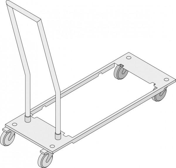 Transportwagen für Behälter Integrierter Fettablauf (Combi-Duo und Standgeräte)