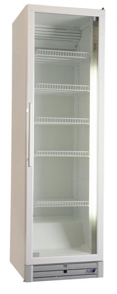 Glastür-Kühlschrank mit vertikaler Beleuchtung CD 480 GU