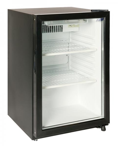 Flaschenkühlschrank mit Glastür KBS KUG 110