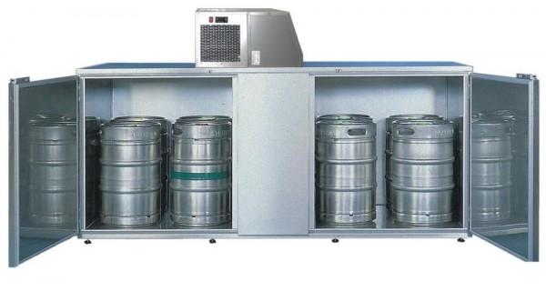 Fasskühlergehäuse für zehn Fässer FK10